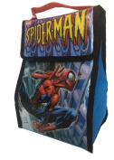 Marvel Spiderman Lunchbox Dual Compartment with Zippered Closure