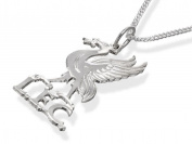 Liverpool FC Mens Jewellery Sterling Silver Liver Bird Pendant & Chain Gift Box