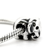 Elephant - African - Indian - 925 Sterling Silver Charm Bead - European Style