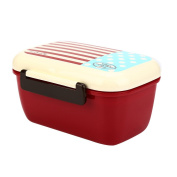Mromick Portable Lunch Box PP Cute Meal Box Tableware Microwave Oven New