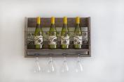 Wall Mounted Grape Wine Rack