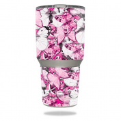 Skin For YETI 890ml Rambler Tumbler – Butterflies | MightySkins Protective, Durable, and Unique Vinyl Decal wrap cover | Easy To Apply, Remove, and Change Styles | Made in the USA