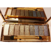 QzoneFire Make up Glitter Eyeshadow Palette 9 Colours Cosmetics Eye Shadow Pallete