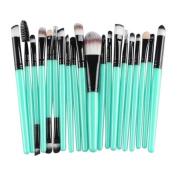 SMTSMT 2017 Super Soft 20 pcs Makeup Brush Set tools
