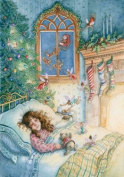 Sugarplum Fairies Advent Calendar w/ Envelope