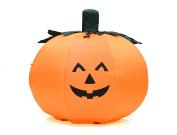 Fun 1.2m Self Inflating Illuminated Pumpkin Halloween Yard Statue Blow up Inflatable