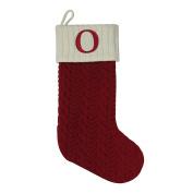 "St. Nicholas Square 50cm . Initial Stocking sock "" O "" CHRISTMAS"
