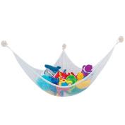 Children Kids Safe Corner Storage Net; Toy Hammock Stuffed Animal Storage, Hanging Net Corner Wall Organiser for Storing Plush Toy, Pool Toy, Baby Toys, Sports Gear