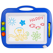 SGILE Big Size Colour Magnetic Doodle Sketch Pad Magna Drawing Scribble Board for Children Toddler 4 Colours