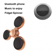 Friend Bluetooth Fidget Spinner for Kids & Adults Stress Reducer Relieves ADHD Anxiety Boredom Ceramic Cube Bearing Music