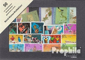 North-Korea 50 different special stamps