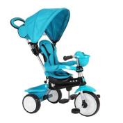 Q Play Comfort 4-IN-1Trike Blue