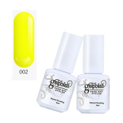 Chic Nail Polish, Efaster Candy Colours Gelpolish Barbie Light Treatment Plant Nail Glue Plastic Women Girls Nail Makeup