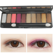 MLM Professional 10 Colours Makeup Warm Eyeshadow Palette