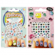 NPW Cat Crazy Nail Stickers & Unicorn Nail Stickers