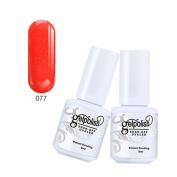Elegant Nail Polish, Efaster Candy Colours Gelpolish Barbie Light Treatment Plant Nail Glue Plastic Women Girls Makeup