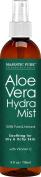 Majestic Pure Aloe Vera Hydra Mist, 100% Pure & Natural, from Certified Organic Cold-Pressed Aloe Vera, 120ml