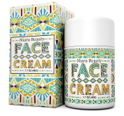 Face Cream-Anti Ageing Moisturiser-For Wrinkles, Fine Lines and Even Skin Tone-Organic & Natural Ingredients for Sensitive, Oily and Dry Skin-For Women and Men-also use on Eye, Neck, Decollete - 50ml