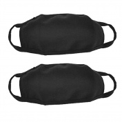 Reusable Cotton Blends Anti Dust Mask Mouth Face Mask Cover Ear Loop Mask for Women Men 10 Pcs