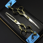Professional 440C Stainless Steel hair Cutting Shears Barber Scissors Scissors Thinning For Hairdressers Scissors