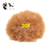 Synthetic Curly Ponytail,Short Elastic Drawstring Ponytail African American Afro Kinky Curly Hair Extension