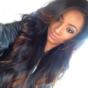 TopFeeling Brazilian Virgin Hair Body Wave Wigs For Black Women Lace Front Wigs Human Hair With Baby Hair Ombre
