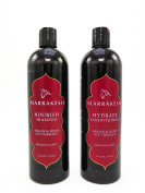 MARRAKESH Original Shampoo + Conditioner, Combo Set With Hemp and Argan Oils for Unisex, 740ml