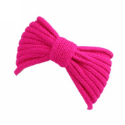 Women Knitting Headband Handmade Keep Warm Hairband Bow-Tie Style