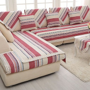 WWQY Cotton/linen the old sand-proof hair fashion seasons knitting fabric sofa cushion red/grey colour