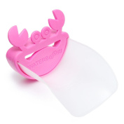 Universal Hot Pink Crab Water Faucet Tap Extender For Kids!