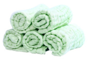 Baby Muslin Washcloths and Towels Natural Organic Cotton Baby Wipes Soft Newborn Baby Face Towel and Muslin Washcloth for Sensitive Skin for Shower Gift