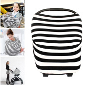 Martofbaby Baby Girl Boy Car Seat Cover Nursing Trend breastfeeding Carseat Canopy Breathable Windproof Breathable & Soft …
