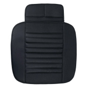 iiniim PU Leather Bamboo Charcoal Car Seat Cover Cushion Pad Mat for Cars Vehicles