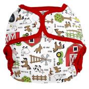 Imagine Baby Products AI2 Shell 2.0 Snap Nappies, Barnyard Jam