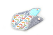 Pello Burp Cloth Set, Multi-purpose Washable for Feeding/Eating, Soft, Absorbent, Forest/Dakota