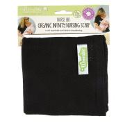 Woombie NURSE AIR Infinity Nursing Scarves, Black
