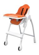 Oribel Cocoon 3-Stage High Chair, Orange