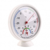 Ingerik Dial Indoor Outdoor Thermometer Hygrometer Temperature Metre