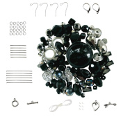 Black & Silver ~ Assorted Bead Kit