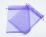AEAOA 10cm x 15cm Organza Bags Drawstring Wedding Favour Bags Organza Gift Pouches Bags for Wedding Jewellery Party