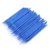 Hunputa 100PCS Lint Free Microblading Supplies Micro Brushes Cotton Swab Sticks Tattoo Makeup Permanent Supplies
