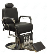 SkinAct Vintage Salon Chair - Black