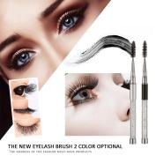 Eyelash brush,Putars Fashion 1PC High Quality Crystal Eyelash Brush Mascara Wands Applicator Spoolers Makeup