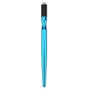 Ruier-hui Cross Type Tattoo Pen Metal Permanent Makeup Tattoo Pen Microblading Pen Blue