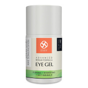 Essy Beauty Natural Eye Gel for Wrinkles, Fine Lines, Dark Circles, Puffiness & Bag
