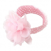 Soucool Girls Headbands Flower Elastic Baby Hairband Boutique Flower Hair Hoops Hair Accessories