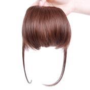 Smilco SideBurns Bangs Fake Hair Bangs Clip In Bangs Front Hair Extension