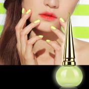 Botrong 14ML Candy Colours Neon Luminous Nail Art Polish Glow In Dark Varnish