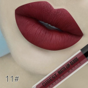 ESCENERY 18 Colos Matte Velvet Long Lasting Lipgloss Liquid Fashion Lip Makeup Sexy Lipstick Lip Cream