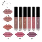 DaySeventh 6PCS Lipstick Set New Fashion Waterproof Matte Liquid Cosmetic Elegant Sexy Lip Gloss Multicolor Lipstick Kit